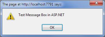 javascript alert instead of Response.Write()